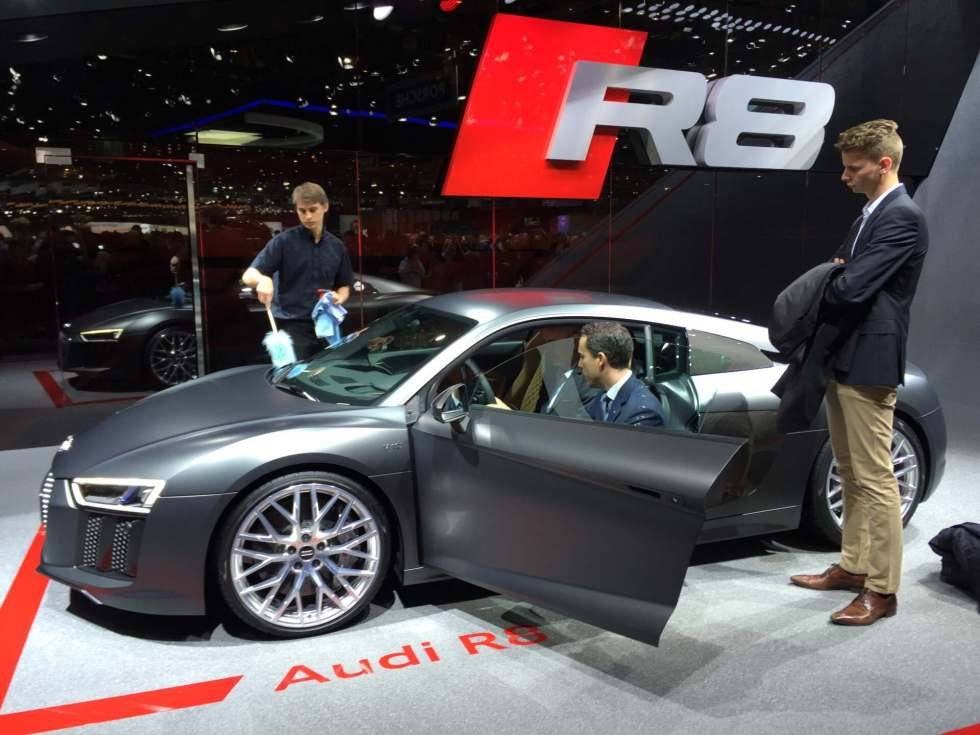 Review Of The All New 2015 Audi R8 At Geneva (image Heavy)