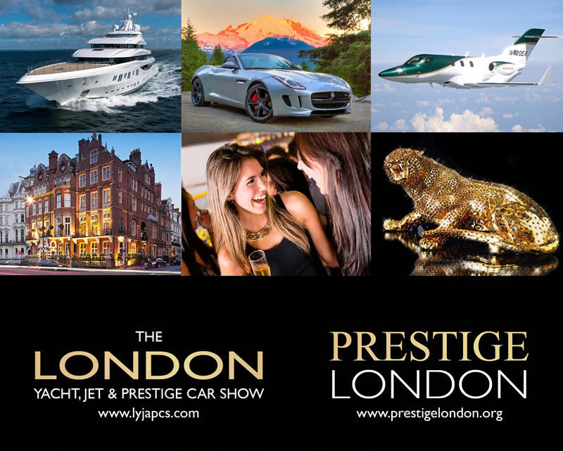 The London Yacht, Jet And Prestige Car Show 2016!