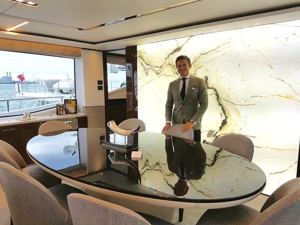I Go On Board The Sumptuous Princess 30m SuperYacht