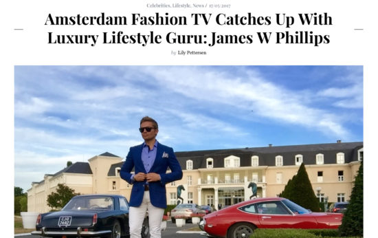 Amsterdam Fashion TV Interview