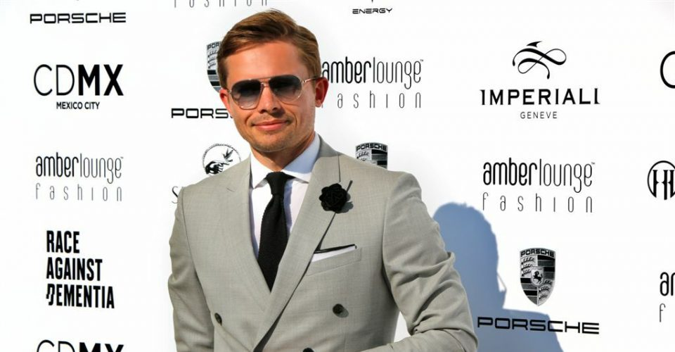 James At The Amber Lounge Monaco Formula 1 Fashion Show
