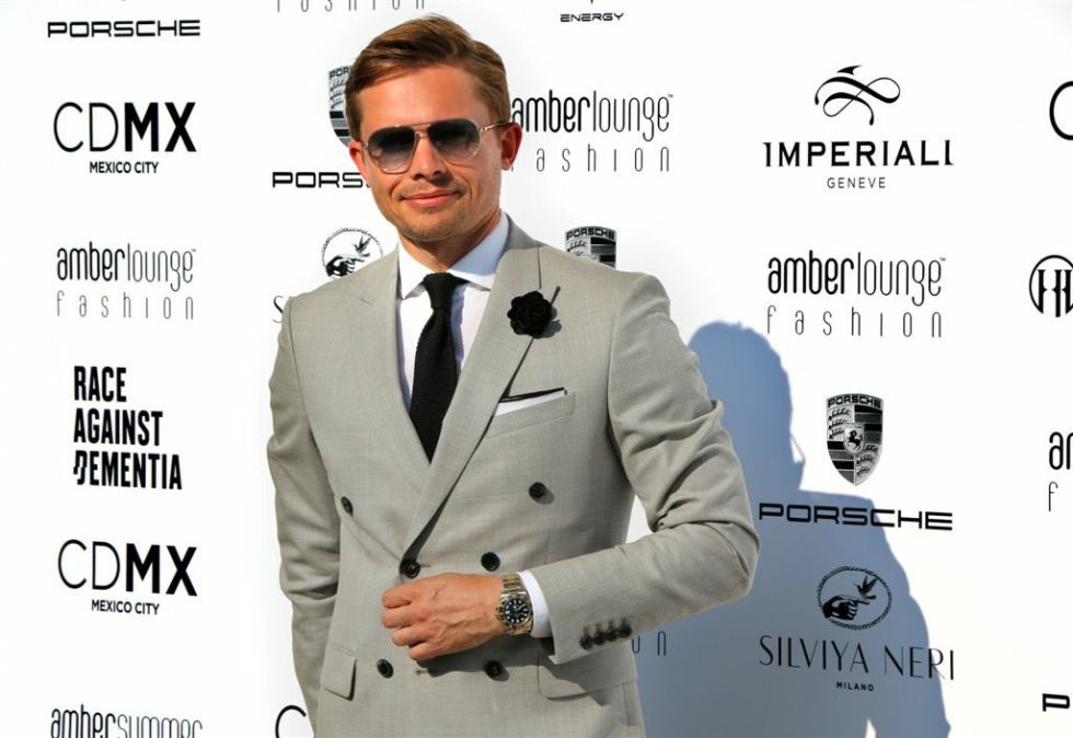 James At The Amber Lounge Monaco Formula 1 Fashion Show