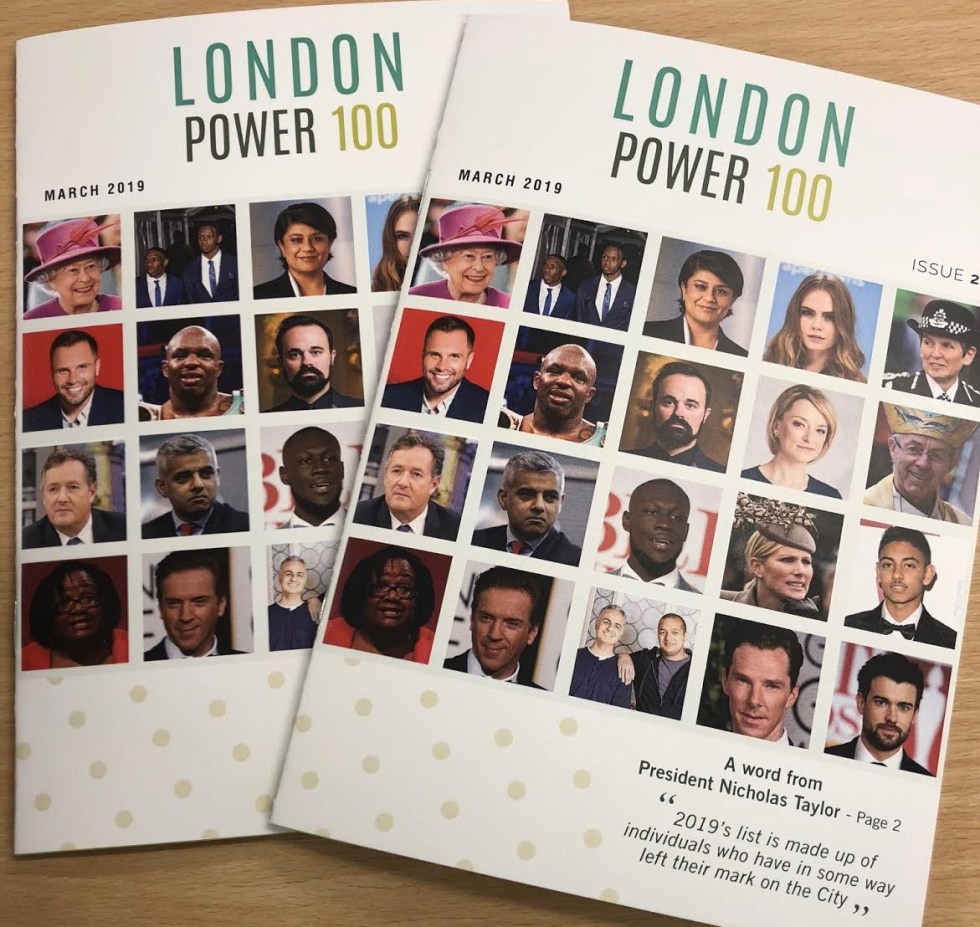 EXCLUSIVE: A First Look At 2019's London Power List As Billionaires, Politicians And Celebrities Populate The List