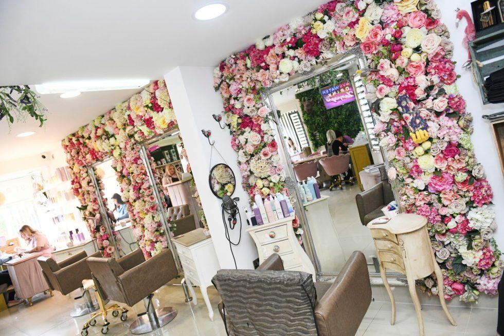 Flowers beauty salon