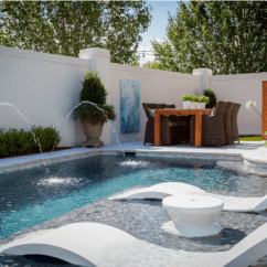 What Are Pool Chairs Made Out Of Chair Cover Hire Gumtree Ledge Lounger The Ultimate In Water Furniture Luxury Pools
