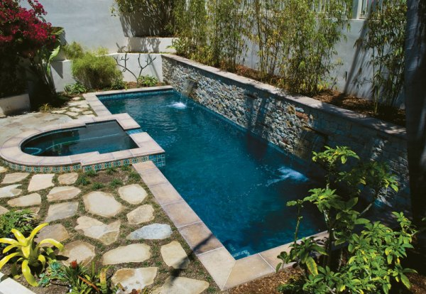 top 8 swimming pool shapes - luxury