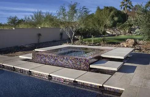 Spa Designs PerimeterOverflow Spas  Luxury Pools