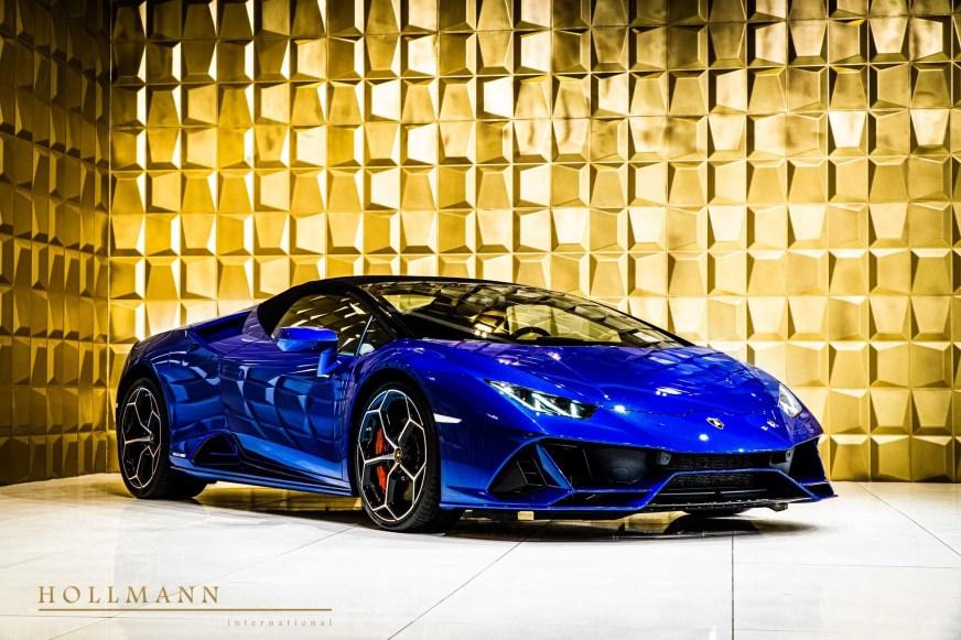 Lamborghini Huracán Evo Spyder - Hollmann International ...