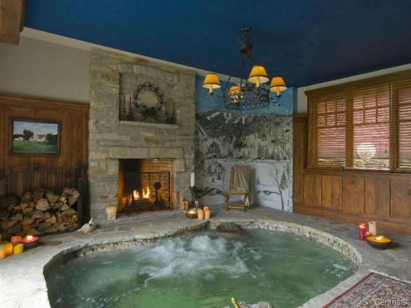 Quebec Chalet With Fireplace Hot Tub