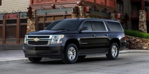 Luxury SUV Rides - 2017 Chevrolet Suburban