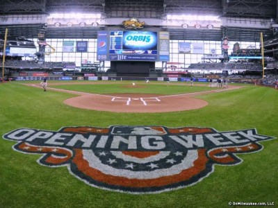 Milwaukee Brewers Home Opener 2018