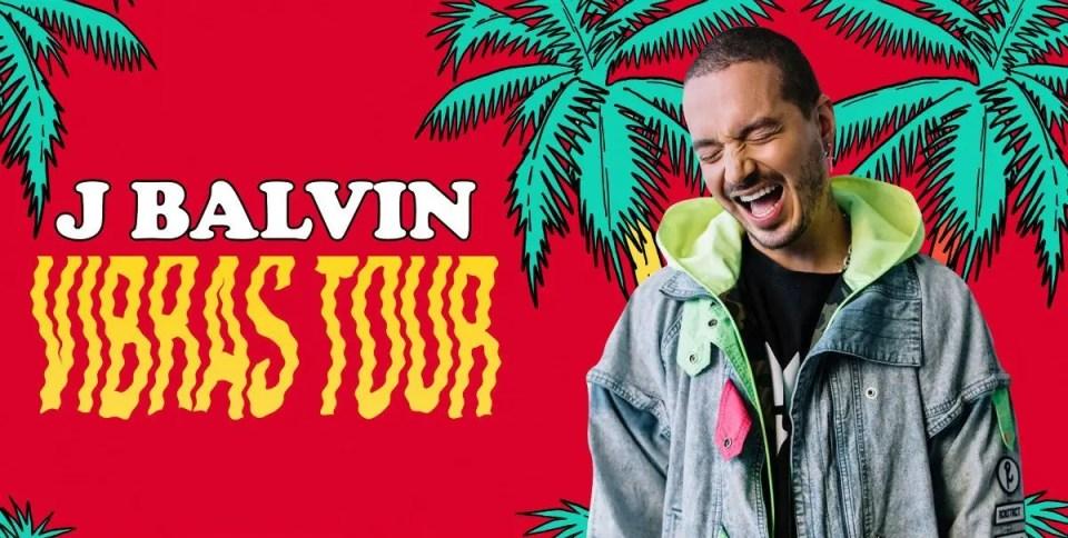 J Balvin Vistas Tour