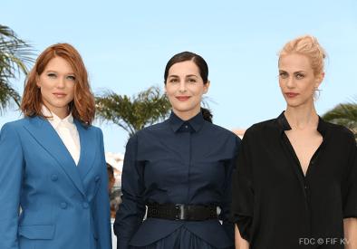 Lea Seydoux, Amira Casar, Aymeline Valade - 17/05 | SAINT LAURENT