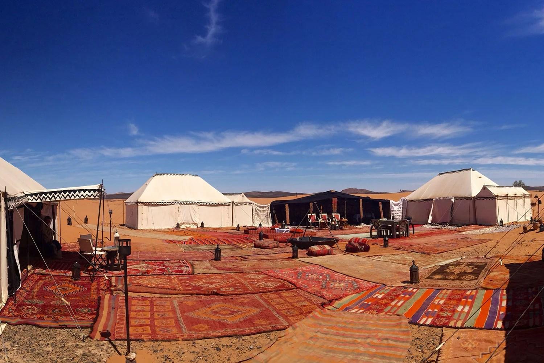 Desert Luxury Camp In Erg Chebbi, Morocco  Glamping