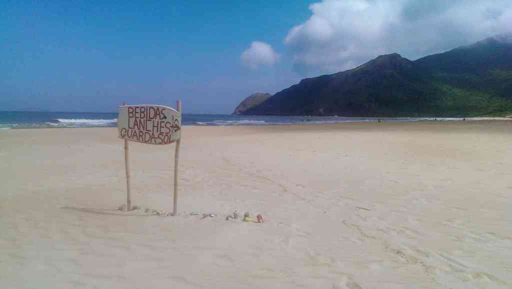 5 Reasons To Visit Florianópolis, Brazil - Reward at the end of the trail of Lagoinha do Leste (-Drinks, Snacks, and Parasols) - The Traveller's Guide By #ljojlo