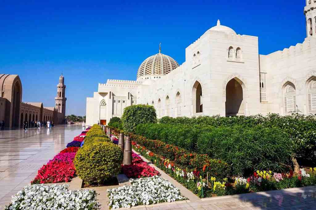 Sultan Qaboos Mosque - Layover in Oman
