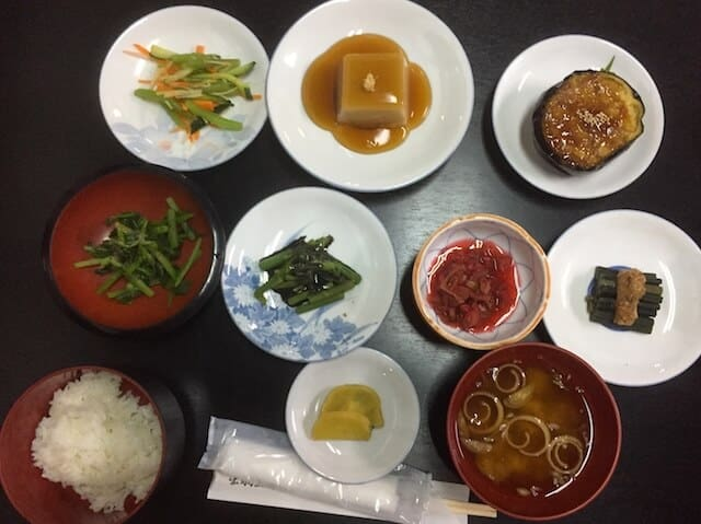 Delicious Meals - Japan Cruise - Luxury Travel Hacks