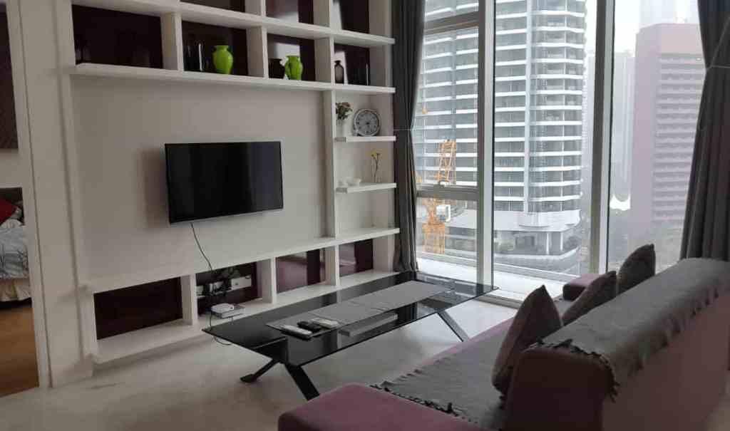 Living Room - Airbnb Kuala Lumpur - Luxury Travel Hacks