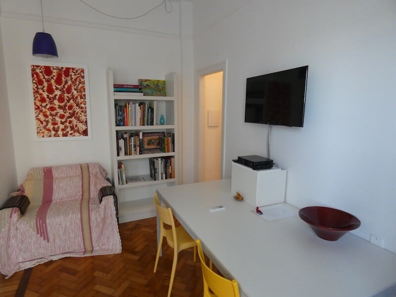 Living Area - Luxury Rio Airbnb - Luxury Travel Hacks