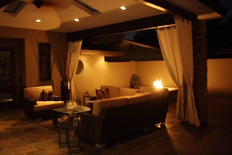 Phoenix Airbnb - Backyard - Luxury Travel Hacks