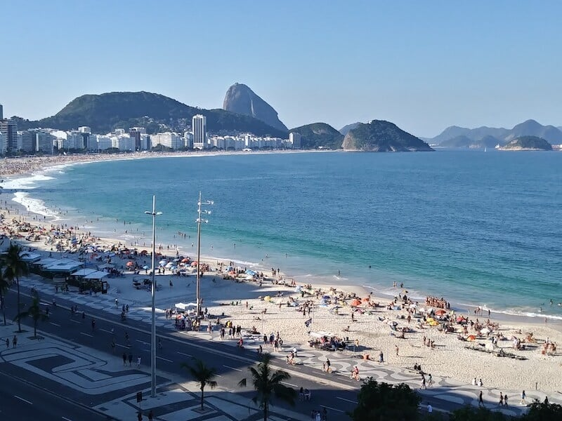The View of Copacabana Beach - Airbnb Rio - Luxury Travel Hacks