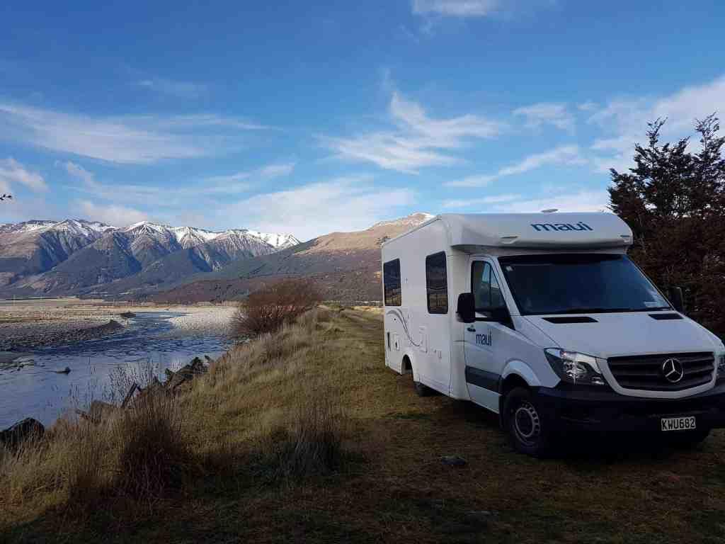 Maui Cascade - Campervan Hire New Zealand - Luxury Travel Hacks
