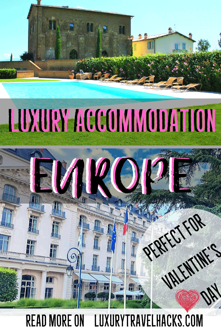 Are you looking for accommodation in Europe? Maybe for Valentine's Day, check out these options for luxury holidays in Europe. READ MORE...