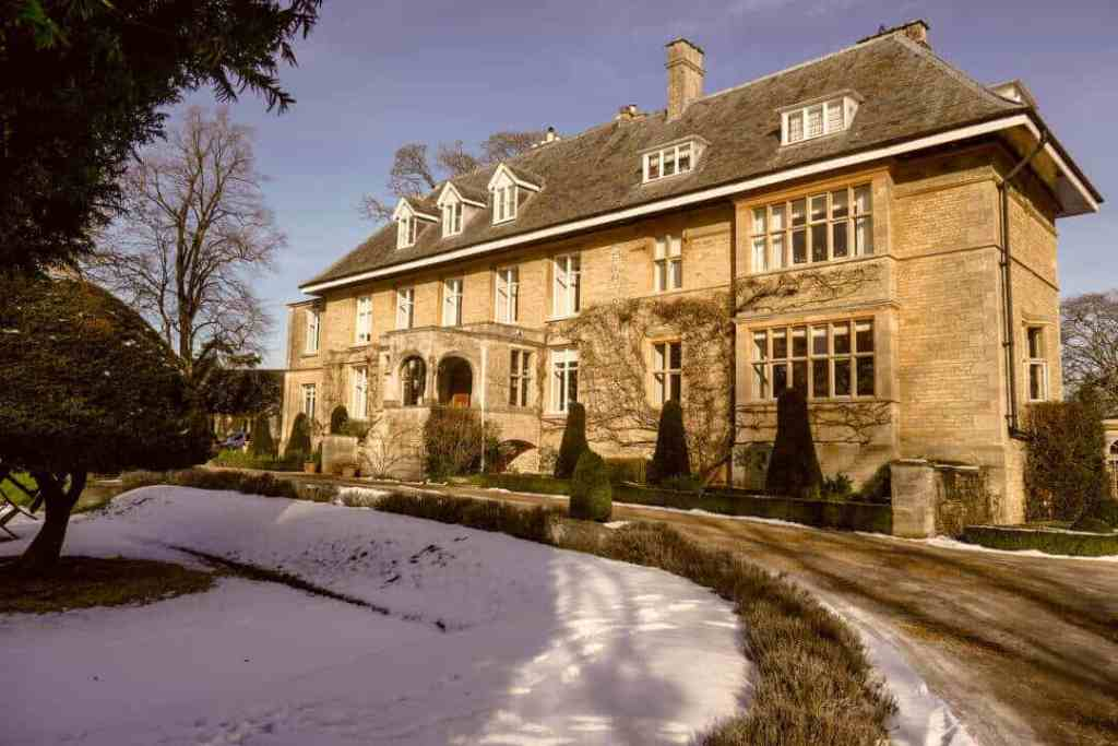 Outside Slaughters Manor - England - Accommodation in Europe - Luxury Travel Hacks
