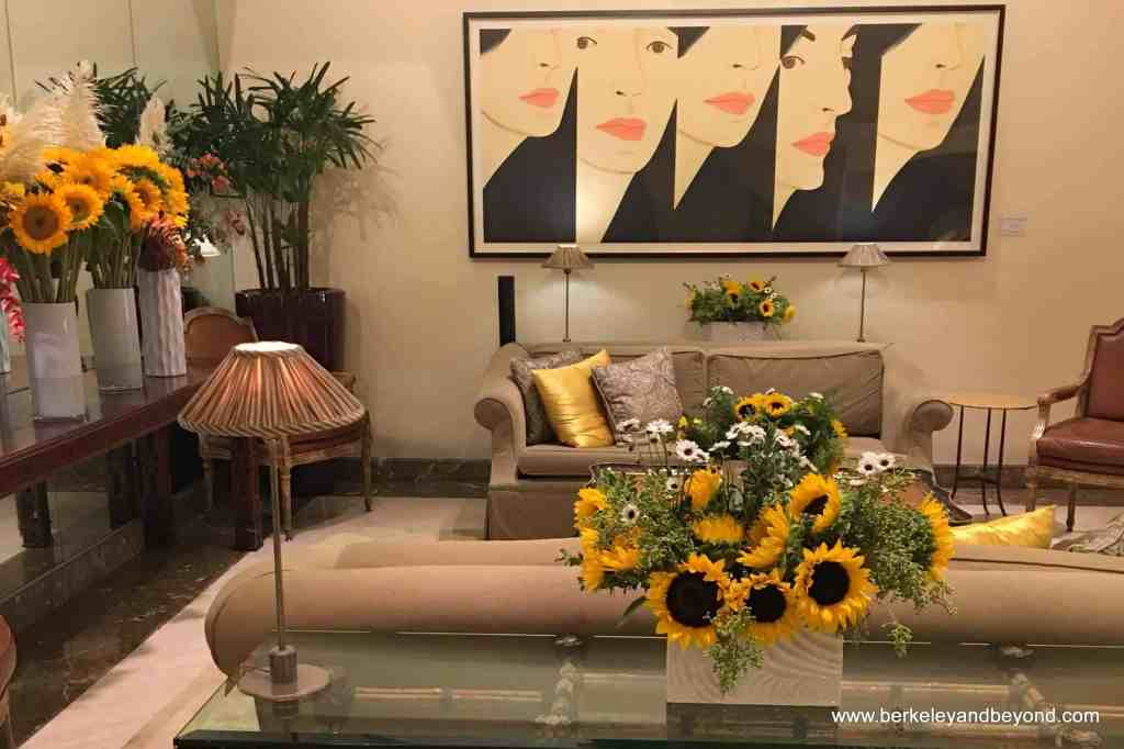 Taj Campton Place Lobby - Couples Retreat Near Me - USA, San Francisc
