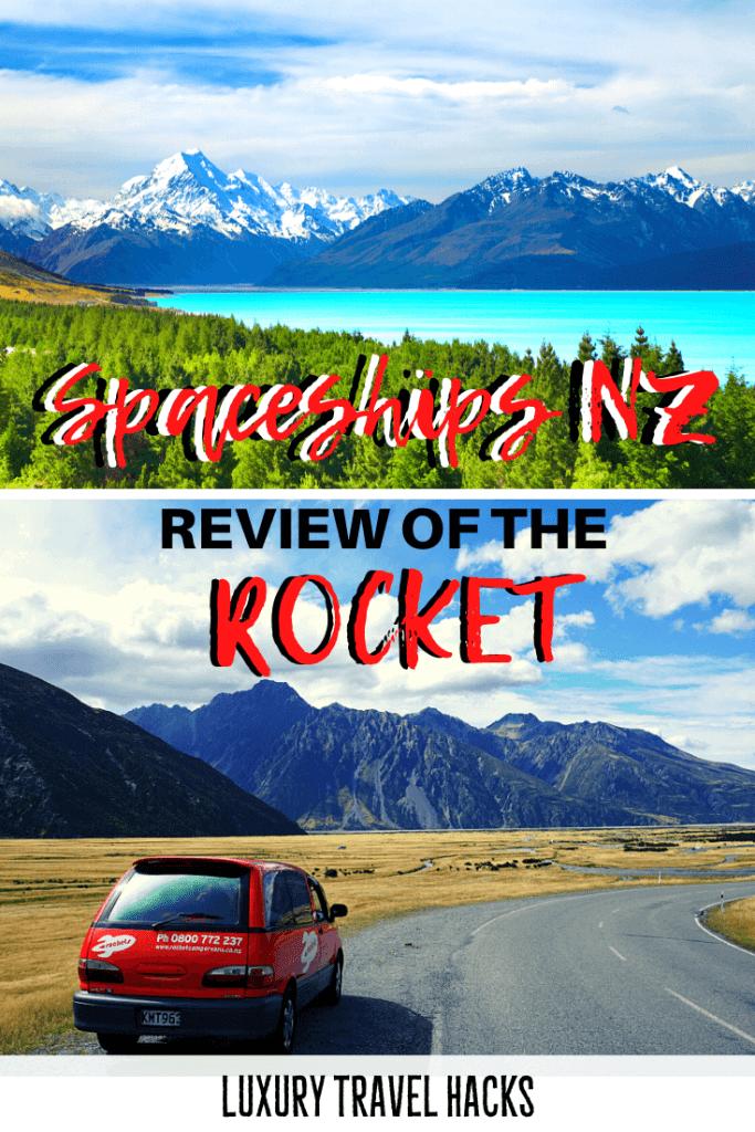Spaceships Rockets New Zealand - Spaceship Campervan NZ - Luxury Travel Hacks