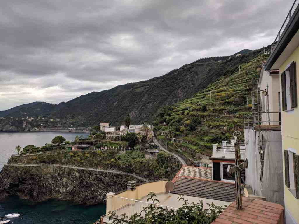 View - Airbnb Cinque Terra - Luxury Travel Hacks