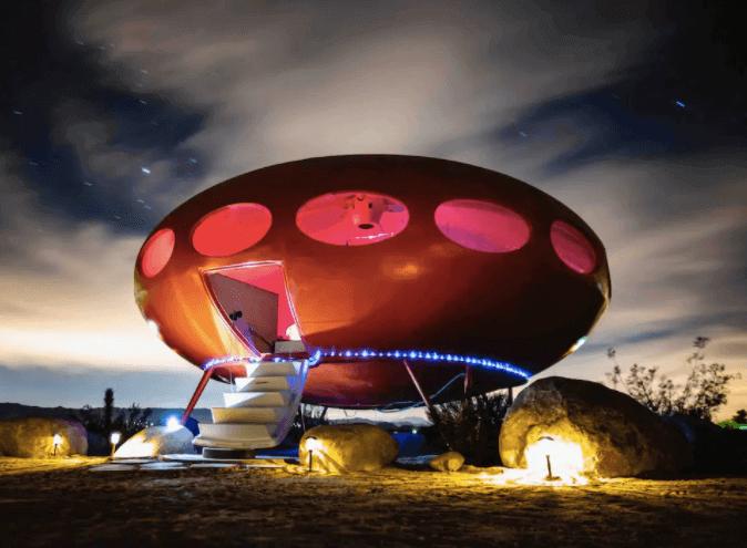 Area 55 Futuro House - Joshua Tree Airbnbs - Luxury Travel Hacks