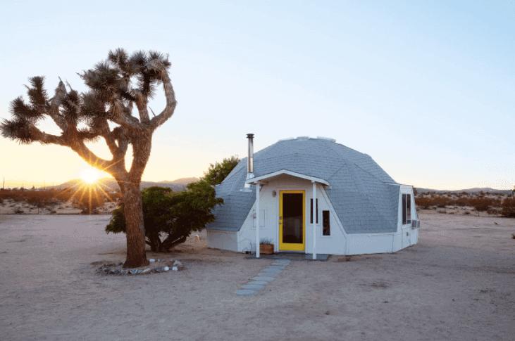 Dome in the Desert in Joshua Tree - Best Airbnbs in Joshua Tree - Luxury Travel Hacks