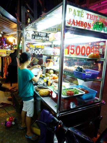 Banh Mi cart, Vietnam