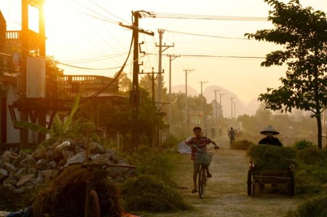 Ninh Binh sunset