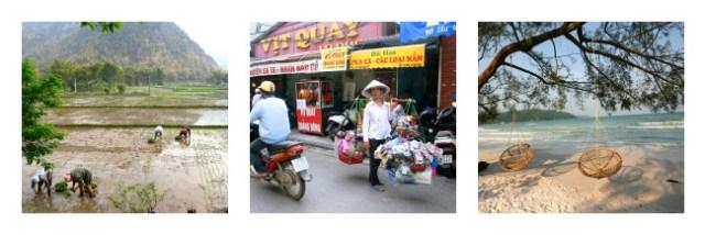 Hanoi, Mai Chau, Koh Rong Samloem