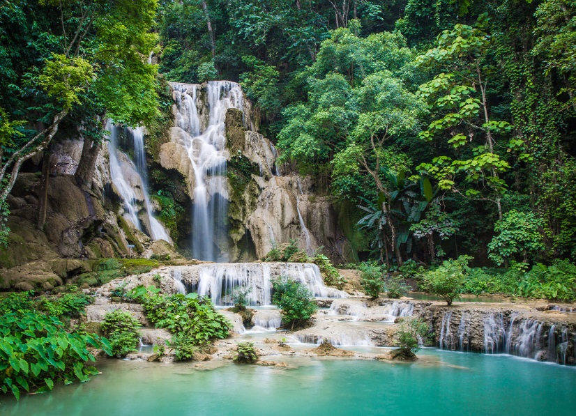 kuang si waterfall laos tour packages