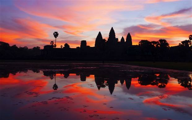 Best places to see the sunrise in Angkor Wat