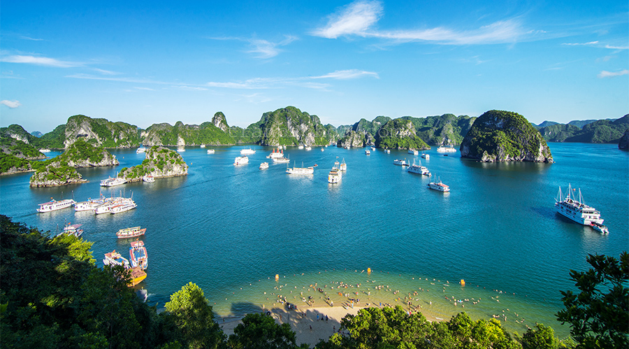 Van Don Island - Halong Bay Tour