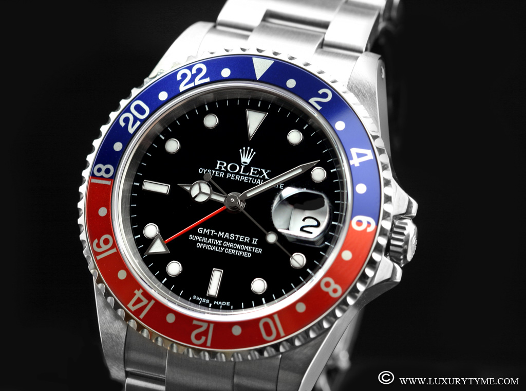 GMT: Review Of The Rolex GMT Master II 16710