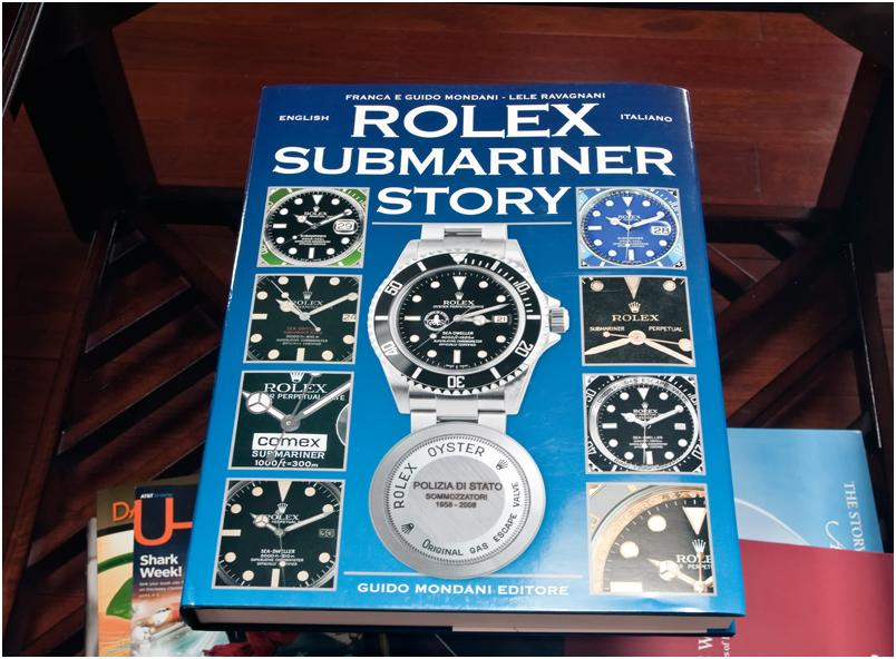 """b17be1ff9ea The book """"ROLEX SUBMARINER STORY"""" by Franca and Guido Mondani is the latest  Rolex related publication to come from """"Guido Mondani Editore"""" publishing."""