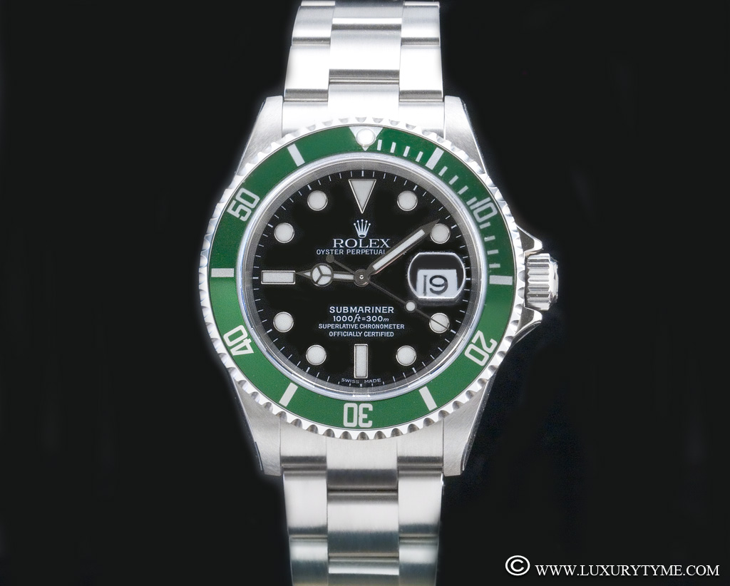 review of the rolex submariner 16610 lv the 50th anniversary submariner luxury tyme the. Black Bedroom Furniture Sets. Home Design Ideas