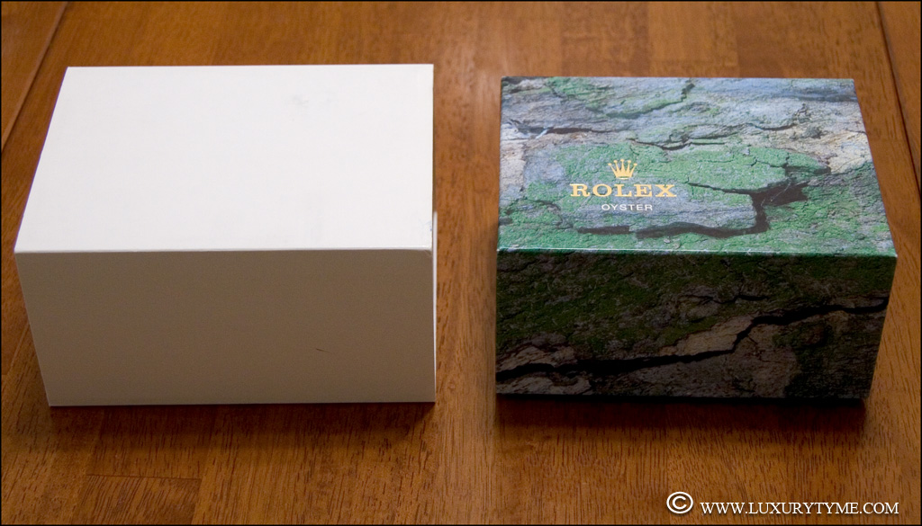 The Change in Rolex Packaging Circa 2005