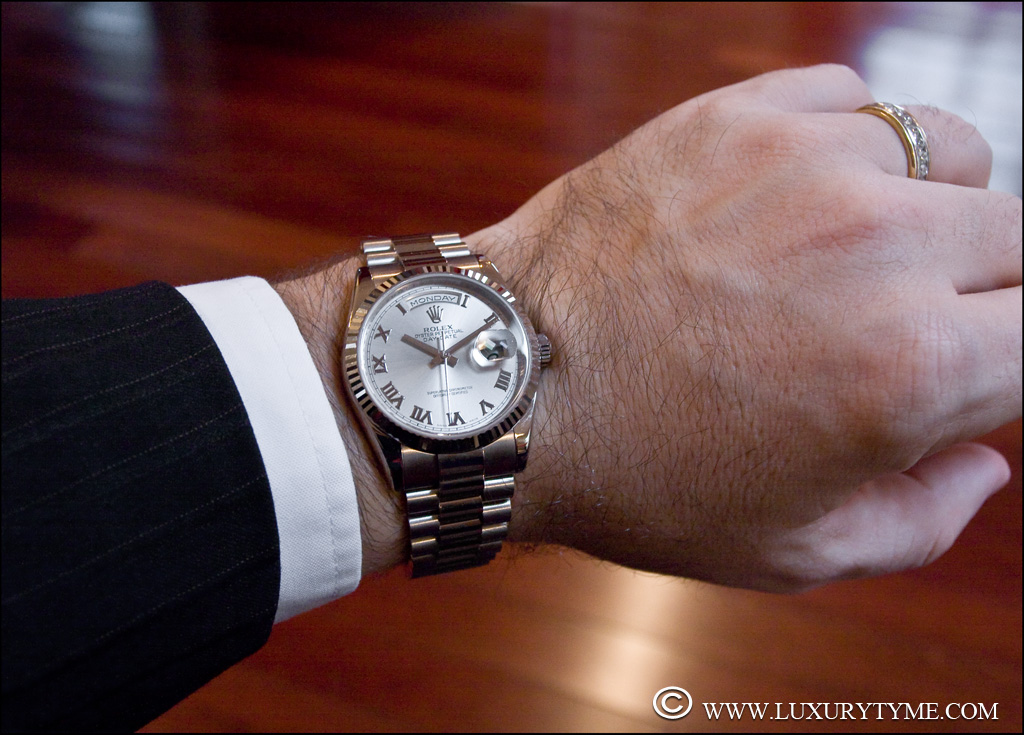 "Review of The Rolex Day-Date ""Presidential"" 