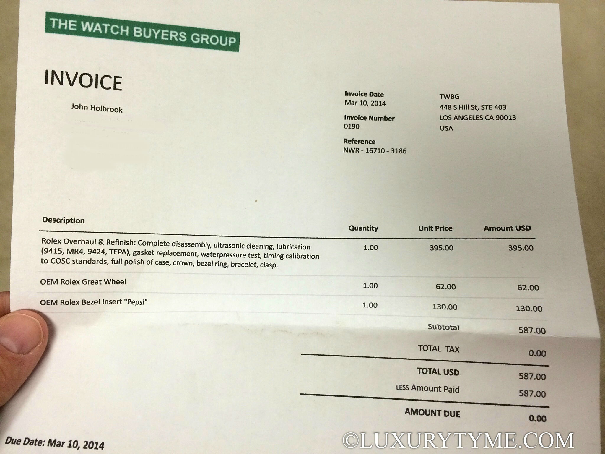 Rolex Service Cost >> The Servicing Of My Rolex Gmt Master Ii By The Watch Buyers Group