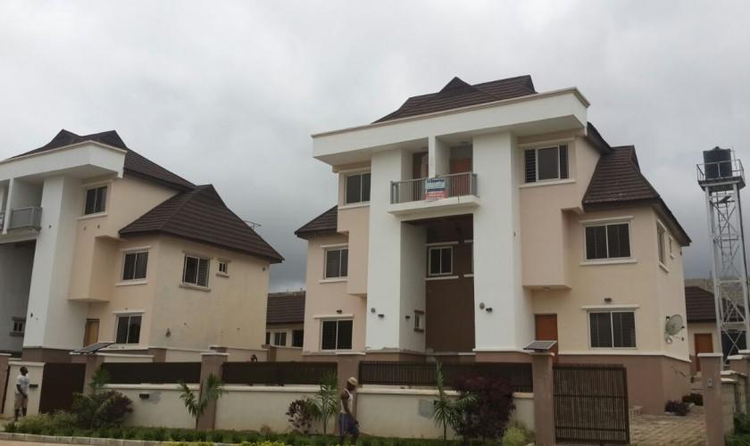 Semi Detached Duplexes  Luxury Villas Nigeria Ltd