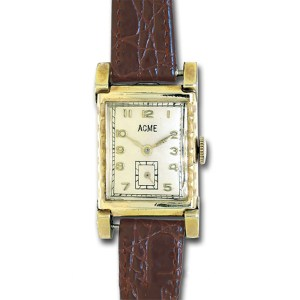 Acme Classic gold fill mm  watch