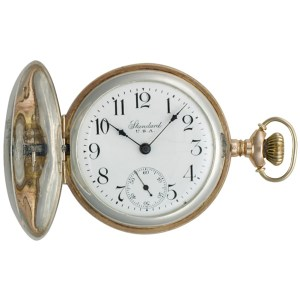 Standard pocket watch sterling silver mm Manual watch