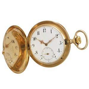 IWC pocket watch 568502 14k White dial 52mm Manual watch