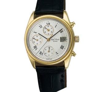 Paul Picot Chrono Date 18k 36mm auto watch